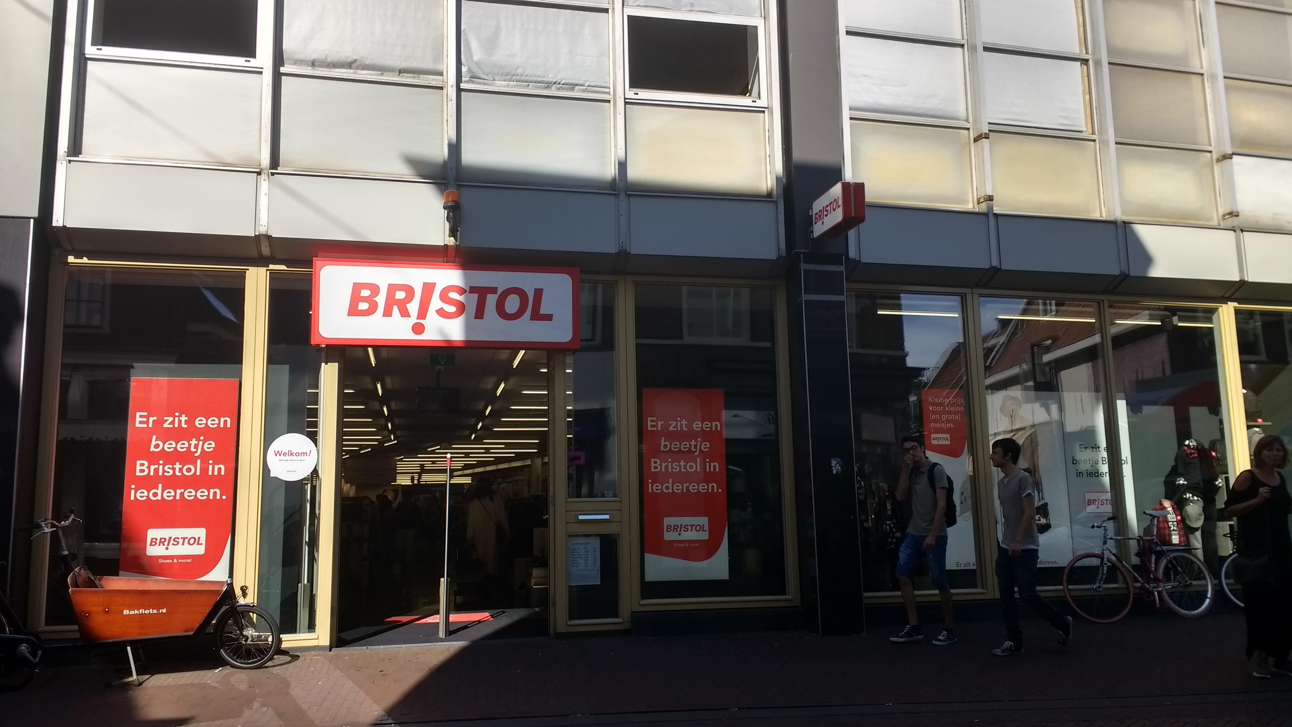 Nike levert niet meer aan goedkope ketens, Bristol sleept