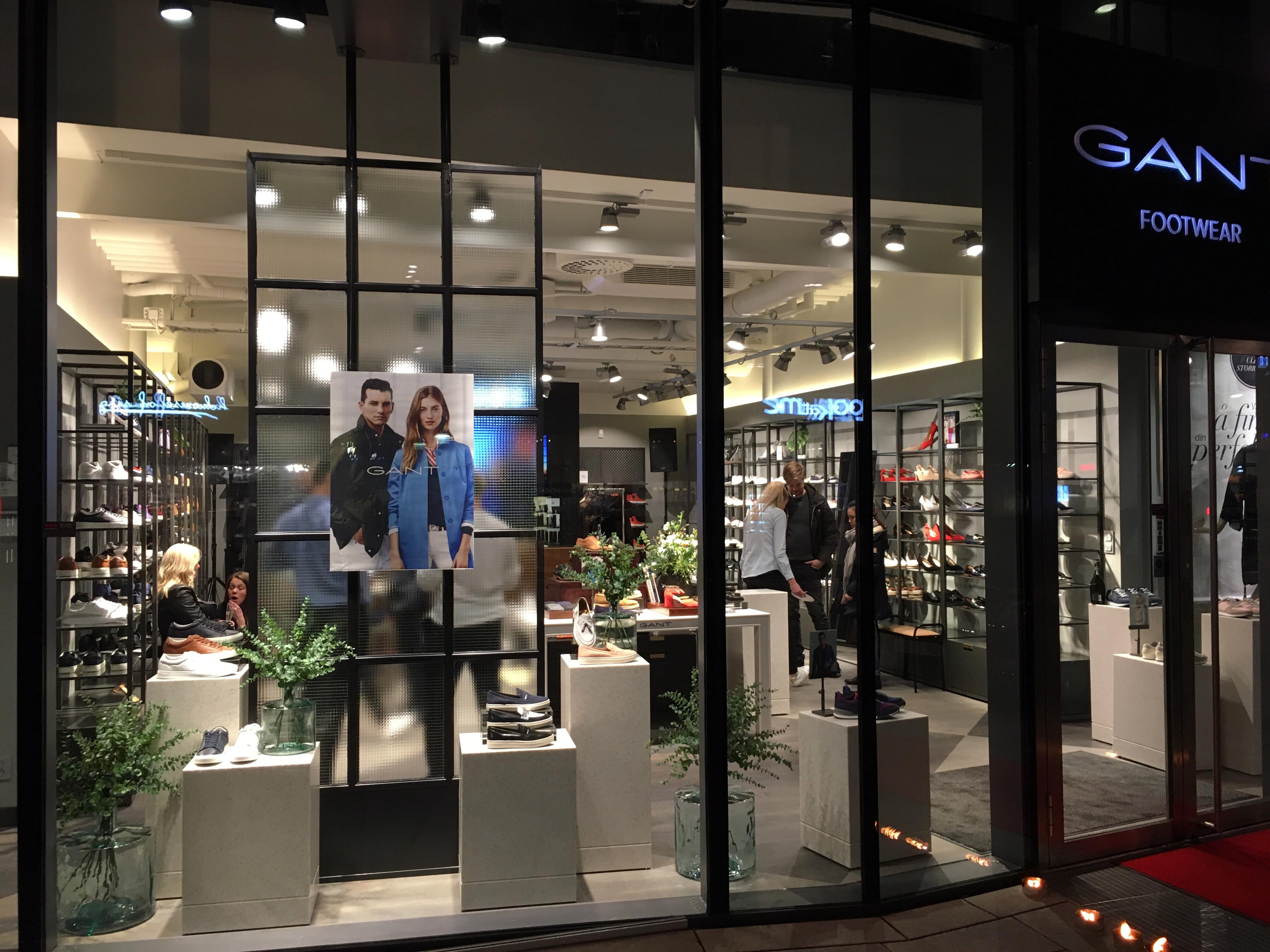 Gant Footwear Store credit Gant Footwear