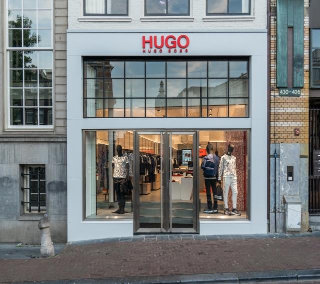 Hugo Menswear Store Amsterdam Leidsestraat 2018 01