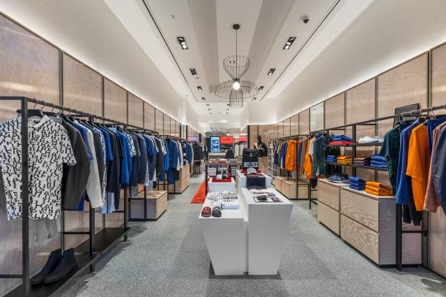 Hugo Menswear Store Amsterdam Leidsestraat 2018 02