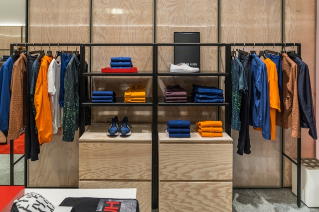 Hugo Menswear Store Amsterdam Leidsestraat 2018 05