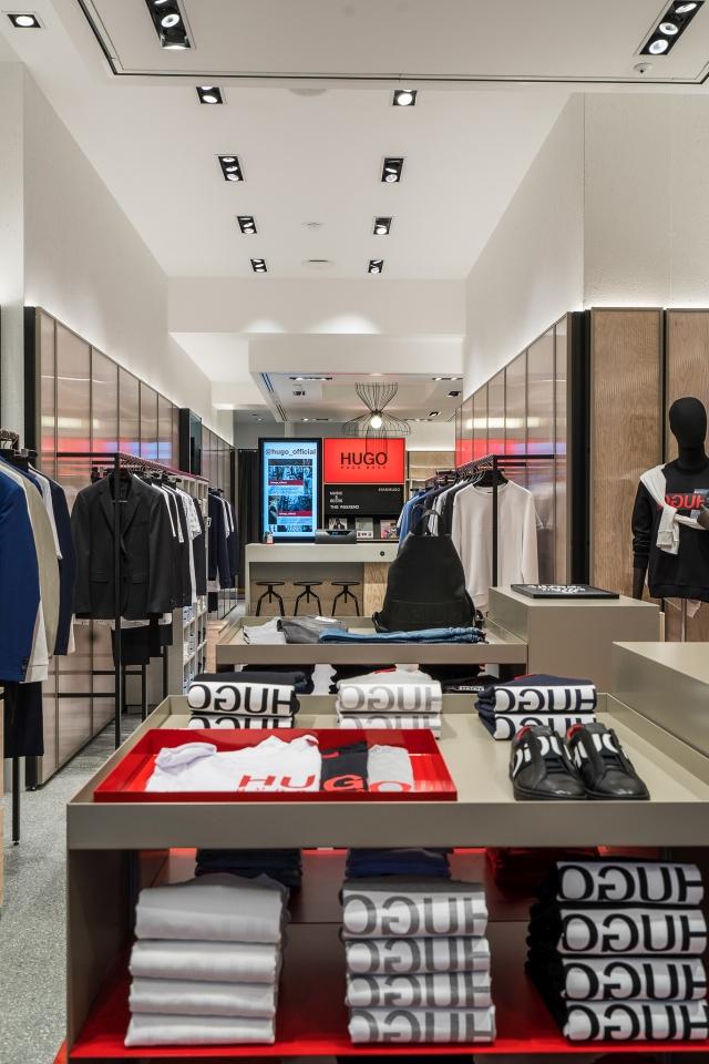 Hugo Menswear Store Amsterdam Leidsestraat 2018 07