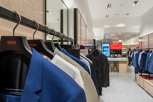 Hugo Menswear Store Amsterdam Leidsestraat 2018 20