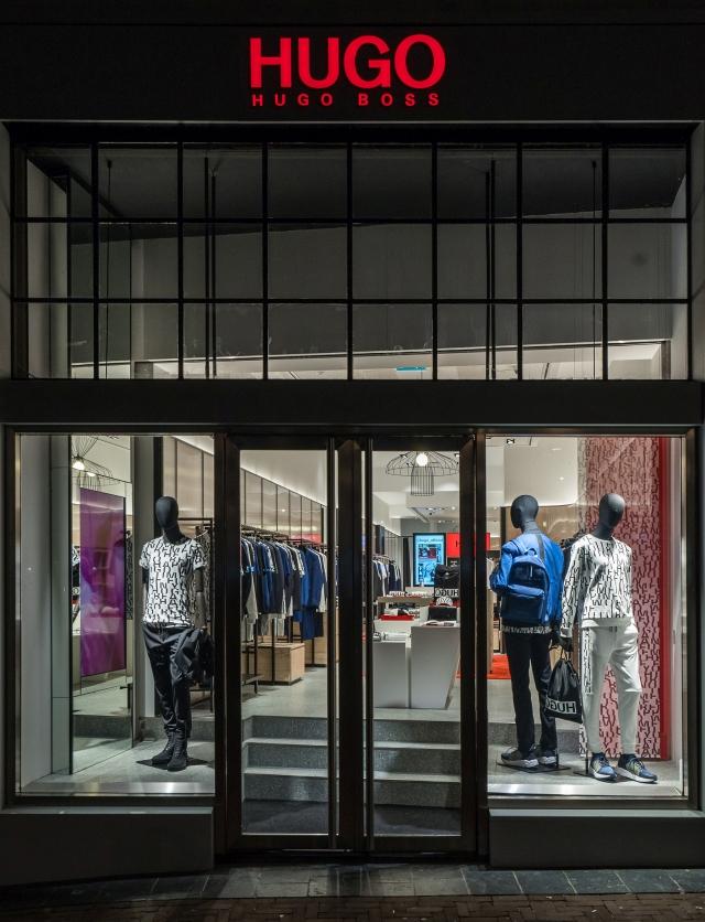 Hugo Menswear Store Amsterdam Leidsestraat 2018 21