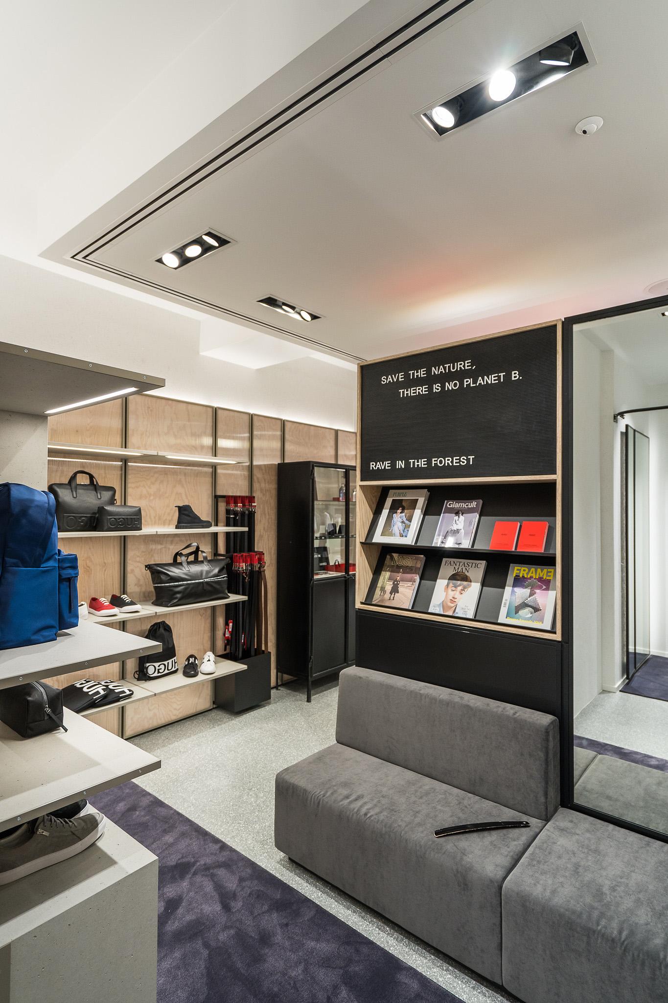 Hugo store Amsterdam (2)