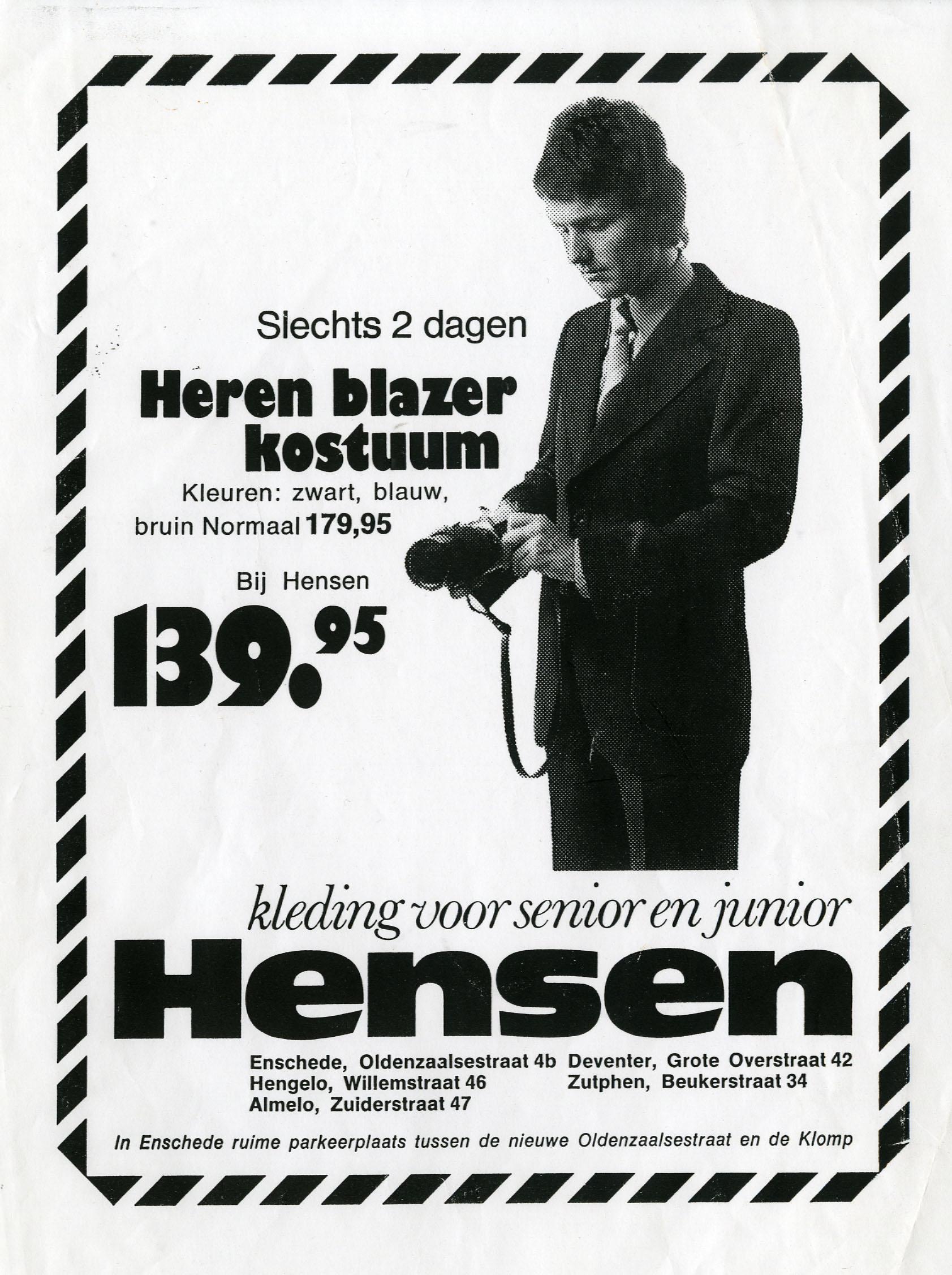 Jac Hensen 1978