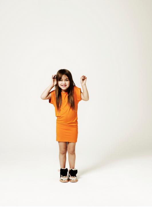 Kinderversie WK jurkje 2014