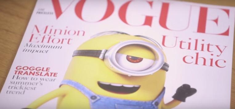 Minion Vogue