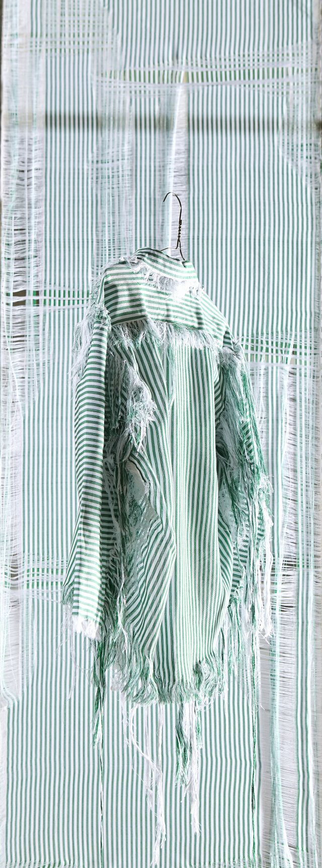 TextilesFabricsSarah BrunnhuberWeave knot waste