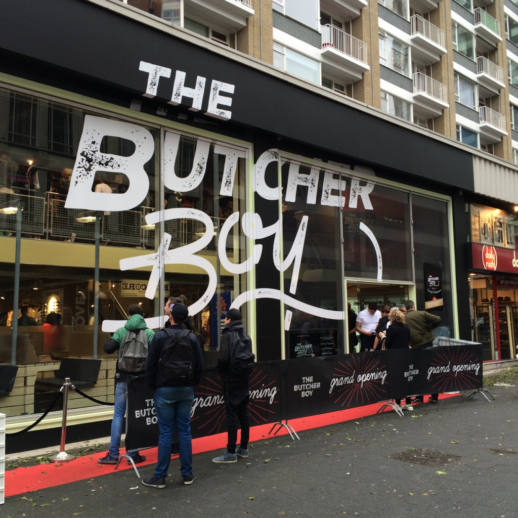 The Butcher Boy gevel