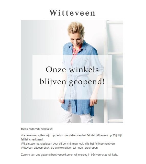 Witteveen melding website