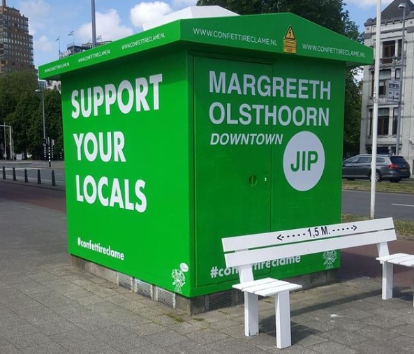 Margreeth Olsthoorn X Jip_Downtown